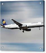 Lufthansa Airbus A321-231 Acrylic Print