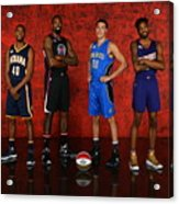 Nba All-star Portraits 2017 Acrylic Print