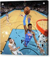 New Orleans Pelicans V Oklahoma City Acrylic Print