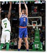 New York Knicks V Boston Celtics Acrylic Print