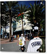New York Yankees V Tampa Bay Rays Acrylic Print