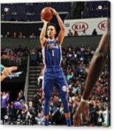 Philadelphia 76ers V Charlotte Hornets Acrylic Print