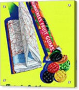 Rowntrees Fruit Gums Acrylic Print