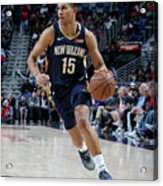 Toronto Raptors V New Orleans Pelicans Acrylic Print