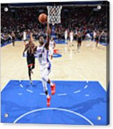 Toronto Raptors V Philadelphia 76ers Acrylic Print