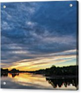 Danvers River Sunset Acrylic Print