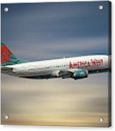 America West Boeing 737-300 Acrylic Print