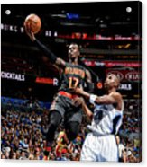 Atlanta Hawks V Orlando Magic Acrylic Print