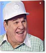 Baseball Legend Pete Rose Visits Stuart 9 Acrylic Print