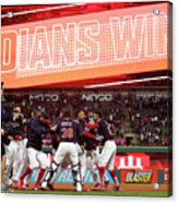 Boston Red Sox V Cleveland Indians 9 Acrylic Print