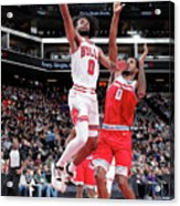 Chicago Bulls V Sacramento Kings Acrylic Print