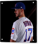Chicago Cubs Photo Day 9 Acrylic Print