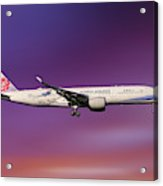 China Airlines Airbus A350-941 Acrylic Print