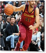 Cleveland Cavaliers V New Orleans Acrylic Print
