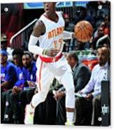 Detroit Pistons V Atlanta Hawks Acrylic Print