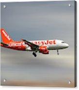 Easyjet Unicef Livery Airbus A319-111 Acrylic Print