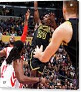 Houston Rockets V Los Angeles Lakers Acrylic Print
