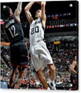 Houston Rockets V San Antonio Spurs - Acrylic Print