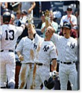 Kansas City Royals V New York Yankees Acrylic Print