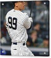 Kansas City Royals V New York Yankees 9 Acrylic Print