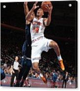 Minnesota Timberwolves V New York Knicks Acrylic Print