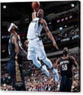 New Orleans Pelicans V Dallas Mavericks Acrylic Print