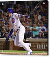 New York Mets V Chicago Cubs 9 Acrylic Print
