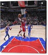 Oklahoma City Thunder V Sacramento Kings Acrylic Print