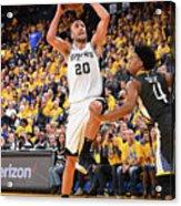 San Antonio Spurs V Golden State Acrylic Print