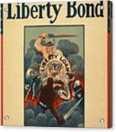 Wartime Propaganda Poster Acrylic Print