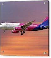 Wizz Air Airbus A320-232 Acrylic Print