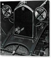 A 1933 Alfa Romeo 6c 1750 Acrylic Print