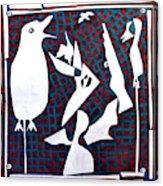 A Bird Hunting Birds 3 Acrylic Print