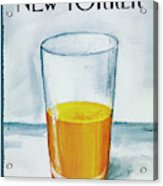 A Bit Of Oj To Start The Day Acrylic Print