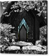 A Door To Enter Acrylic Print