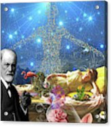A Dream For Dr Freud Acrylic Print