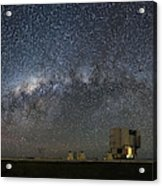 A Galactic View From The Observation Deck Acrylic Print