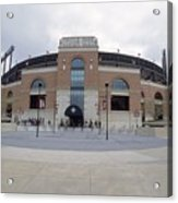 A General View Of Oriole Park At Camden Acrylic Print