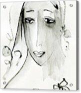 A Girl Acrylic Print