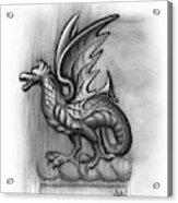 A Highclere Wyvern Acrylic Print