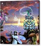 A Maiden Dreams Acrylic Print