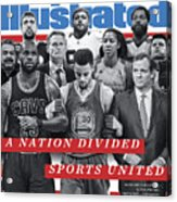 A Nation Divided, Sports United Sports Illustrated Cover Acrylic Print