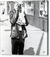 A Photo By Andy Warhol Acrylic Print