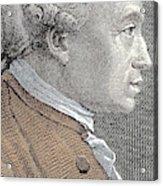 A Portrait Of Immanuel Or Emmanuel Kant Acrylic Print