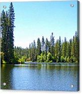 A Quiet Place - Bass Lake Acrylic Print