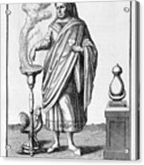 A Representation Of January, 1757 Acrylic Print