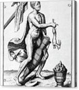 A Representation Of October, 1757 Acrylic Print