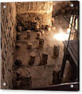A Room Inside Masada Acrylic Print