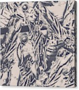 A Souvenir Of Statues Acrylic Print