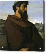 A Thinker A Young Roman Monk Acrylic Print